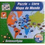 Puzzle+livro  Mapa do Mundo